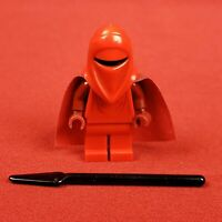 Genuine Lego 75034 Star Wars Imperial Royal Guard Minifigure with Burgundy Arms
