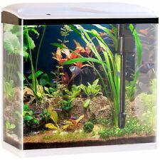 Sweetypet Nano-Aquarium-Komplett-Set mit LED-Beleuchtung, Pumpe & Filter, 40 l