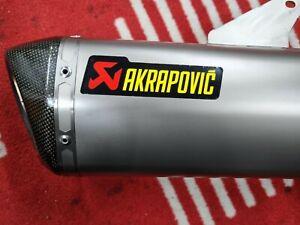 Ducati 821-939 Hypermotard Titanium AKRAPOVIC exhaust silencer 2013-2015.