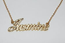JASMINE 18ct Gold Plating Necklace With Name - Girlfriend Engagement Birthday