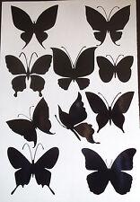 Butterflies vinyl stickers/ car decals/ window decals