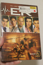 NEW SEALED The Complete Season 6 of ER Television Series  6-Disk DVD Set