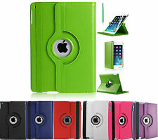 For iPad Air2 Case 360 Rotation Smart Flip Magnet Stand Cover for iPad Air2 2014
