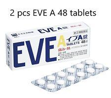 2 pcs SSP EVE A 48 Tablets Headache Medicine Painkiller Pain Relief OTC Japan