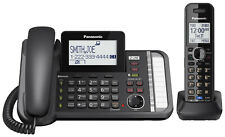 Panasonic TG9581B 1 Handset Corded 2 Line Phone W / Digital Answering System New