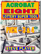 Steve Player's Acrobat Eight Pick- 3 & 4 Lottery Systems