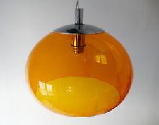 LUSTRE SUSPENSION EN PLASTIQUE / METAL DESIGN MADE ITALY ANNEES 70 VINTAGE 1970
