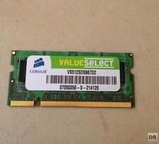 512 Mo ddr2 Corsair pc667 so-ddr2 Ordinateur Portable Mémoire Flambant Neuve RAM MEMORY SODDR 2