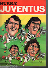 HURRA JUVENTUS=N°10 1973=DYNAMO DRESDA= SPAL= AREZZO=FELICE GIMONDI