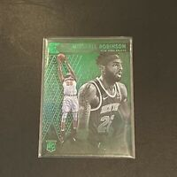 MITCHELL ROBINSON RC 2018-19 Panini Essentials Green Rookie Card #215 NY Knicks