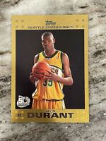 2007 Topps Gold Kevin Durant ROOKIE RC /2007 #112 PSA 7 Rare