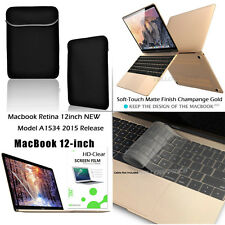 "4-IN-1 For Apple NEWEST Macbook Case,12""inch Retina Display Laptop Computer 2015"