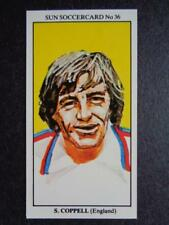 The Sun Soccercards 1978-79 - Steve Coppell - England #36