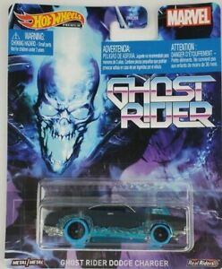 Hot Wheels Marvel Ghost Rider Dodge Charger Retro Entertainment series