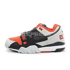 Nike Air Trainer 2 PRM QS [632193-002] NSW Casual Black/Team Orange-Wolf Grey