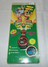 Vintage Power Rangers glo watch/power ball game - NIP - Red Ranger