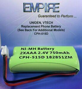 AT&T BT18433 2.4V 750mAh NiMH CPH-515D Empire Scientific Cordless Phone Battery