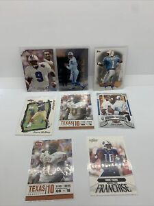 2012 Topps Warren Moon Houston Oilers Vince Young Texas McNair Rookie Card Lot