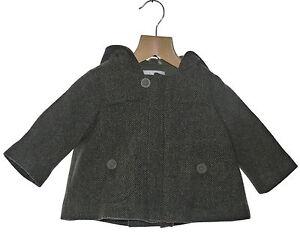 Marie Chantal 100% Wool Herringbone Duffle Coat Girls Boys Various Sizes NWT