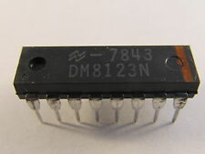 Dm8123n National Semiconductor-tri State quad two input multiplexor