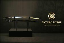 TENKU BLACK SEA JAPANESE NIHONTO SHINKEN DAMUSCUS HAMON SAMURAI KATANA SWORD