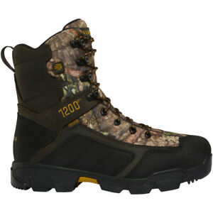 Lacrosse 566710 Men's Cold Snap Mossy Oak Break-Up 1200G Hunting Boots Shoes