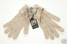 NEUF GUESS hommes tricot GANTS BEIGE TAILLE L (29) 1-16