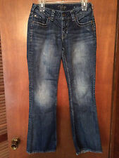 Women's SILVER JEANS Flap Suki Stretch Jeans 28 X 30 L9906SES341 Z5054