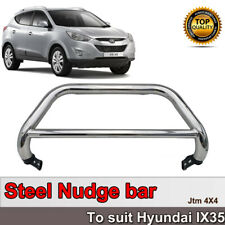 Stainless Steel Nudge Bar Grille Guard to suit Hyundai ix35 LM LM2 2010-2017