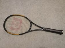 Wilson Custom Blade 98 18x20 Pro stock us open played 4 3/8 grip Tennis Racquet