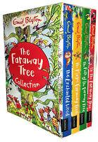 Enid Blyton's The Magic Faraway Tree Collection 4 Books Set New Childrens Books