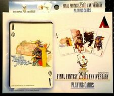 Final Fantasy 25th Anniversary Playing Cards 2012 Square Enix