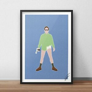 Breaking Bad Walter White INSPIRED WALL ART Print / Poster A4 A3 BRYAN CRANSTON