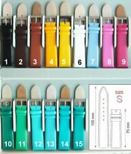 COLOR Leather Watch Straps for CHROMACHRON ― S=105+70mm ― M=115+75mm
