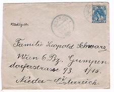 1920 12 1/2 Blijam cent Juliana nach Wien
