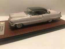 1956 Cadillac Sedan deVille 1/43 GLM resin n Neo Brooklin Dark Gray lt lilac Ltd