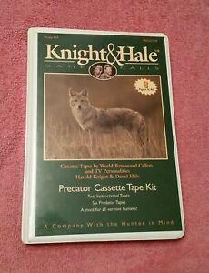Knight & Hale Game Calls - Predator Cassette Tape Kit - Model 919 - 8 Tape Set.
