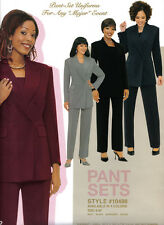 womens Pants Suit, 2Pc Jacket Set.Work Clothing,Church,Career,Business,Plus Size