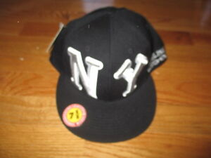NEW YORK BLACK YANKEES 1938-51 Negro League (7 5/8) Cap w/ Tags SATCHEL PAIGE