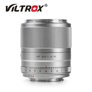 Viltrox 23mm F1.4 STM Auto Focus APS-C Lens For Canon EOS M M1 M2 M3 M5 M6 M50