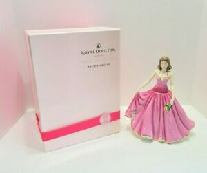 Vintage Royal Doulton Pretty Ladies Especially for You Breast Cancer Figurine