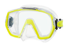 Tusa Freedom Elite Mask Scuba Diving, FreeDiving, Snorkeling Yellow M-1003-FY