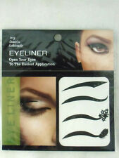 Lot de 4 paires eyeliner tatouages temporaires temporary tattoos cats eyes pinup