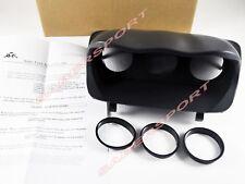 ATI Triple Center Dash Gauge Pod fit 52mm 60mm for 02-07 Subaru WRX STI