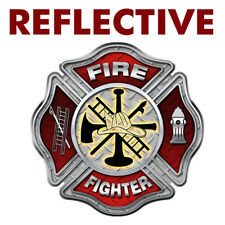Var Fighting Fire for Free Fire Chevron Style Decal Sizes Firefighter Decal