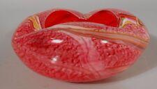 Fine Italy Italian Venetian Murano Multi Color Glass Ashtray Bowl ca. 20th c