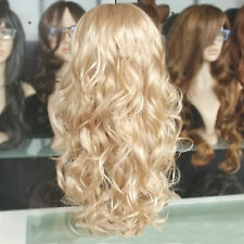 Hot Sale Fashion Style Curly Hair Wigs Charm Women's Long Blonde Wavy Hair Wig