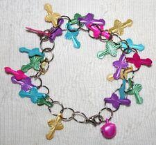 Enamel Alloy Chain/Link Costume Bracelets without Stone