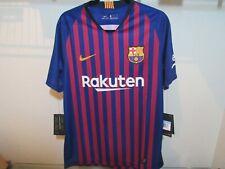 Nike Barcelona FC Authentic Jersey Mens Size Medium 2018