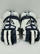 """Under Armour Ua Charge Series Lacrosse Gloves Med 12"""" Navy Blue Protective Gear"""